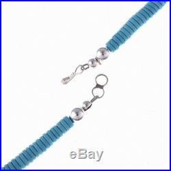 HANDMADE Navajo Turquoise Necklace Unisex Mens Or Ladies Choker SUPER SALE PRICE