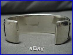 Important Vintage Thick Tommy Jackson Sterling Silver Bracelet