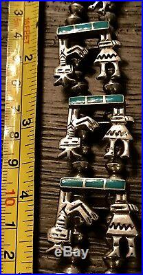 MOST Controversial Signed Native American Necklace AMBROSE LINCOLN Or ROANHORSE
