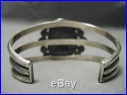 Museum Vintage Navajo #8 Turquoise Sterling Silver Bracelet
