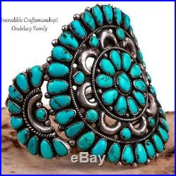 Squash Blossom Necklace Turquoise NATIVE AMERICAN JEWELRY LOT Sterling Bracelet