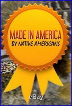 Vintage Navajo Sterling GEM Grade BISBEE TURQUOISE SQUASH BLOSSOM NECKLACE 1950s